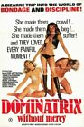 DOMINATRIX WITHOUT MERCY 01 B-MOVIE REPRODUCTION ART PRINT A4 A3 A2 A1