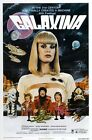 GALAXINA 2 B-MOVIE REPRODUCTION ART PRINT A4 A3 A2 A1