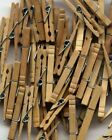 A Photograph Of Wooden Laundry Pegs HAF012 Art Print A4 A3 A2 A1