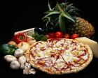 Pepperoni & Pineapple Pizza With Fruit & Veg FOD005 Art Print A4 A3 A2 A1