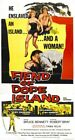 Vintage B Movie Poster Fiend Of Dope Island 02 Print Art A4 A3 A2 A1