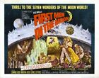 Vintage B Movie Poster First Men In Moon 02 Print Art A4 A3 A2 A1