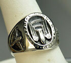 World War II 2 Air Corps AAC Real Sterling silver 925 Aerial Gunner RING
