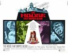 THE HOUSE THAT DRIPPED BLOOD 02 B-MOVIE REPRO ART PRINT A4 A3 A2 A1