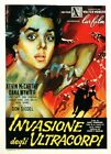 THE INVASION OF BODY SNATCHERS 06 B-MOVIE REPRO ART PRINT A4 A3 A2 A1