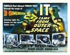 IT CAME FROM OUTER SPACE 06 B-MOVIE REPRODUCTION ART PRINT CANVAS A4 A3 A2 A1