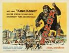 THE KONGA GORILLA 02 B-MOVIE REPRODUCTION ART PRINT A4 A3 A2 A1