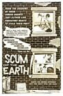 SCUM OF THE EARTH 01 VINTAGE B-MOVIE REPRODUCTION ART PRINT A4 A3 A2 A1