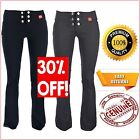 Girls Black Grey School Trousers Miss Sexies Miss Chief Sizes 4 6 8 10 12 14 16