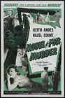 MODEL FOR MURDER B-MOVIE REPRODUCTION ART PRINT A4 A3 A2 A1