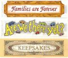 Frances Meyer PAGE TITLE STICKERS TOPPERS Your Choice FAMILY KEEPSAKES ROAD TRIP