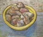 Dish with Potatoes Vincent Van Gogh VG432 Repro Art Print Canvas A4 A3 A2 A1