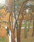 Walk Falling Leaves Vincent Van Gogh VG668 Repro Art Print Canvas A4 A3 A2 A1