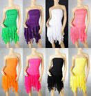 Hot Lady Cocktail&Club Dance Party Candy Sun Bridesmaid Fringe Dress 6-16 3913