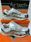 "Airtech Gents Fashion Silver/Orange Trainers ""STINGRAY"""