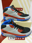 "Airtech Gents Grey/Red/Blue  Baseball Style Fashion Trainer Boots ""HYPE"""