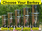 Berkey Water Filter System - Big Crown Royal Imperial Light Travel Fluoride PF-2