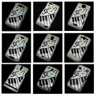 Music Piano Bling Crystal Diamond Rhinestone Snap-On Back Hard Case Cover Skin