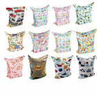1 U Pick Alva Wet Dry Bag Reusable Colorful For Baby Cloth Diapers