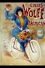 Vintage Poster Cycles Wolff American VCP083 Art Print A4 A3 A2 A1