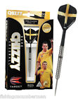 """TARGET DAVE """"CHIZZY"""" CHISNALL SILVER/NATURAL TUNGSTEN DARTS SET 22 OR 24g"""