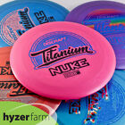 Discraft Ti NUKE *choose your weight and color* Hyzer Farm disc golf driver