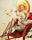 Vintage Pin-Up Somethinga Bothering You Elvgren PINUP315 Art A4 A3 A2 A1