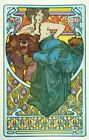 Alphonse Mucha Documents Décoratifs AAM115 Art Print A4 A3 A2 A1