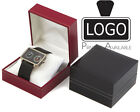 96 Luxury Leatherette Watch/Bracelet Jewellery Box + Luxury Velvet Cushion SC14