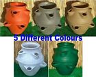 Large Garden Planter Flower Pot Patio Tub Strawberry 6 Colours New