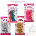 20 pack- Curly Coloured Party Birthday Candles celebration cake cupcake candle