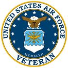 United States Air Force Veteran Window Decal Sticker NEW