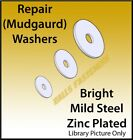 M5 M6 M8 M10 Repair Penny Mudguard/Fender Washers Zinc Plated Bright Mild Steel