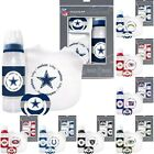 NFL Football Baby Gift Set Collection - Bib Pacifier & Bottle - Pick Your Team