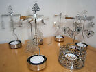 SPINNING ROTARY CAROUSEL TEA LIGHT CANDLE HOLDER - VARIOUS ONES TO CHOOSE FROM