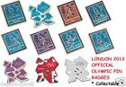 Official London 2012 Olympic Pin Badges - Choose your own - Highly Collectable
