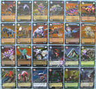 Dinosaur King TCG Choose 1 Time Warp Adventures Gold or Colossal Rare Foil Card