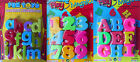 Kids Learning Fridge Magnets Alphabet Letters / Numbers Magnetic Learning NEW