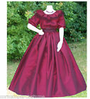 LADIES VICTORIAN / AMERICAN CIVIL WAR COSTUME - 3PC