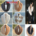 Ladies Fashion Faux Fur Collar Scarf Fluffy Winter Shawl Wrap Stole Scarfs Chic