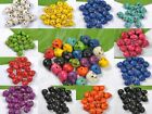 12X10MM Wholesale 40/100pcs Turquoise Carved Skull Head Spacer Beads 10 Colors