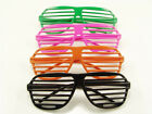 Vintage Aviator Shutter Shades Geek Fashion Glasses Novelty Hip Pop