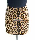 Animal Print Design Mini Skirt Short Straight Fitted Pencil Skirt S~3XL GF0610
