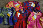 NWT Girls Hanna Andersson Playdress Play Dress Size 50 0-3 Months You Pick