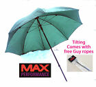 Max Performance nylon tilting umbrella's (brolly) Choose from 45 inch or 50 inch