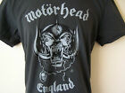 *NEW TAGGED* AMPLIFIED MOTORHEAD ENGLAND GREY MENS T SHIRT SIZES S M L XL XXL