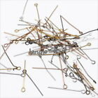 Wholesale New Mixed Colorful Eye Head Pins Finding Fit Jewelry Making 28mm Lots
