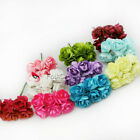 144 2.5mm Paper Artificial Rose Buds Flowers DIY Craft Scrapbook #C