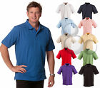 Mens Cotton Polo Size S M L XL 2XL 3XL 4XL 5XL Sport Golf Shirt Top