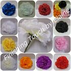 144Silk flower Artificial Carnation picks White orMIX COLOURS Wedding Funerals .